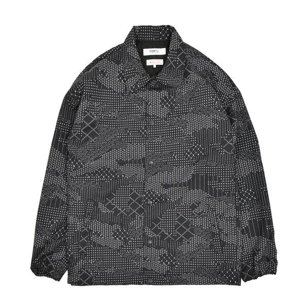 FDMTL Sashiko Camo Coach Jacket