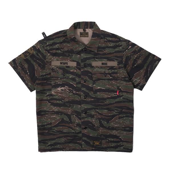 Wtaps Buds SS 02 Shirt Tiger Stripe