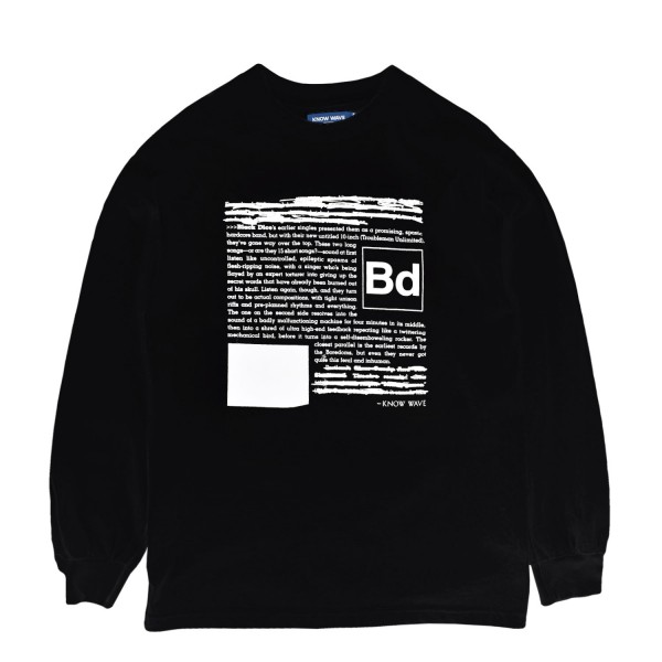 Know Wave Black Dice Review Longsleeve T-Shirt