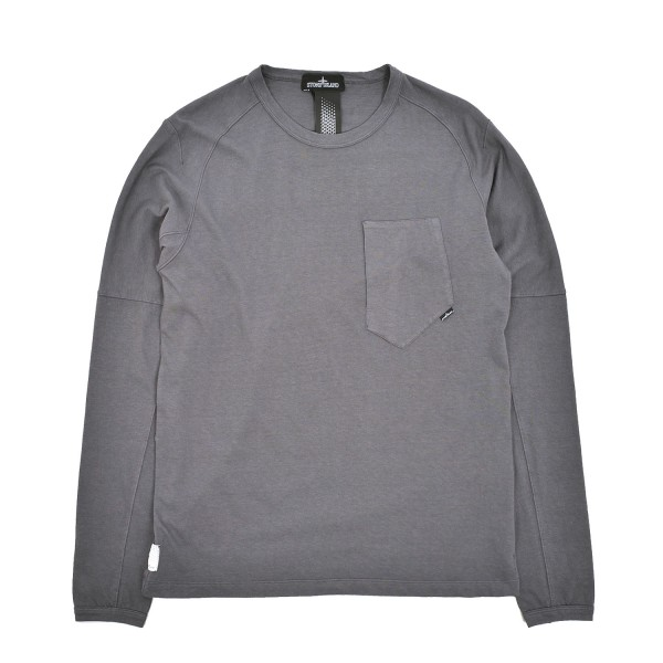 Stone Island Shadow Project Catch Pocket Longsleeve T-Shirt