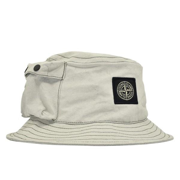 Stone Island Tela Placcata Hat