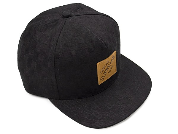 138812c68e5 Supreme Lux Check 5 Panel Hat