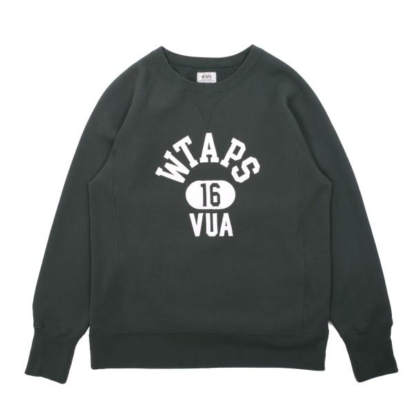 3ba2576246e4 Wtaps Design Crew Neck Sweatshirt