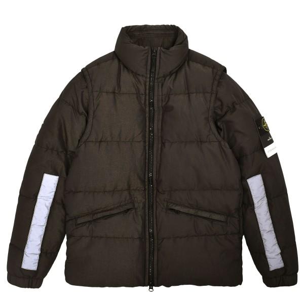 Stone Island Cotton Metal Watro Reflective Jacket
