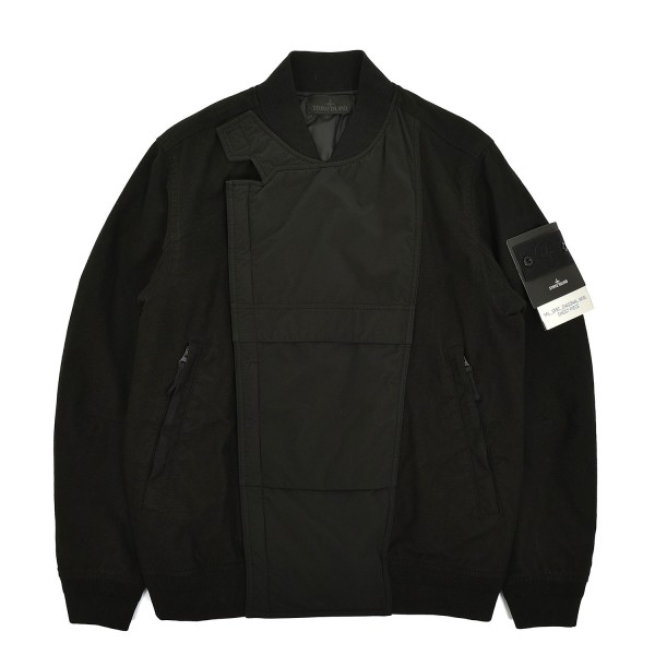 Stone Island Ghost Piece Mil Spec Diagonal Wool Jacket
