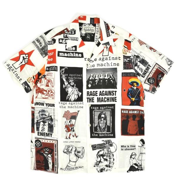 Wacko Maria Rage Against The Machine Hawaiian Shirt
