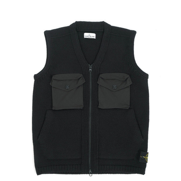 Stone Island Knitted Lambswool Vest