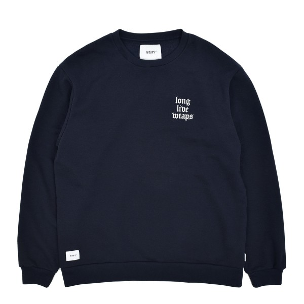 Wtaps LLW Design Crewneck Sweatshirt