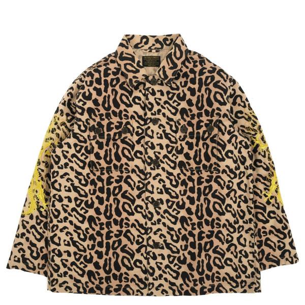 Wacko Maria Tim Lehi Leopardcamo Army Type-1 Overshirt