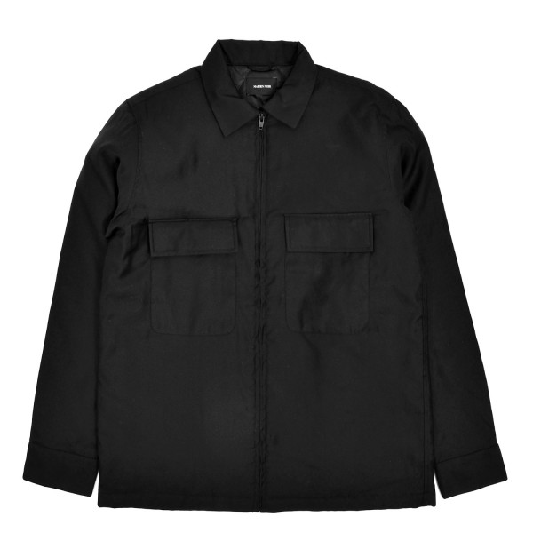 Maiden Noir Quilted Moleskin Shirt Jacket