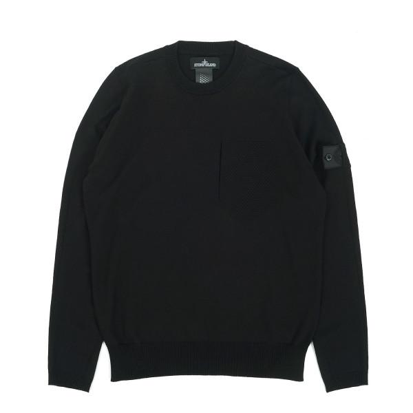 Stone Island Shadow Project Catch Pocket Knit Sweatshirt