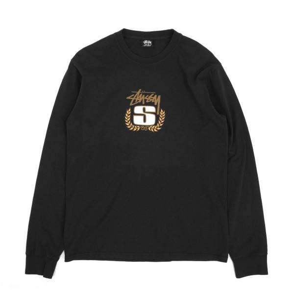 Stussy S Wreath Pigment Dyed Longsleeve T-Shirt
