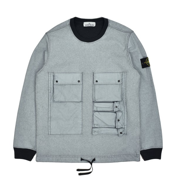 Stone Island Tela Placcata Sweatshirt