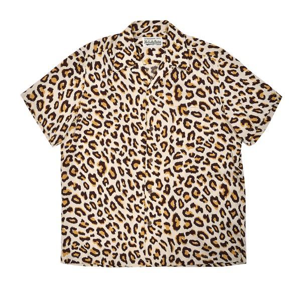 72275a37 Wacko Maria Leopard SS Hawaiian Shirt Type-4 | FIRMAMENT - Berlin ...