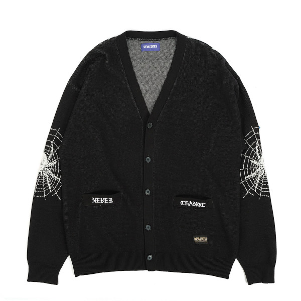Deva States Web Knit Cardigan