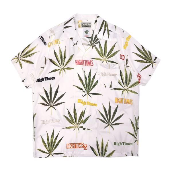 Wacko Maria x Hightimes Hawaiian Shirt Type-2