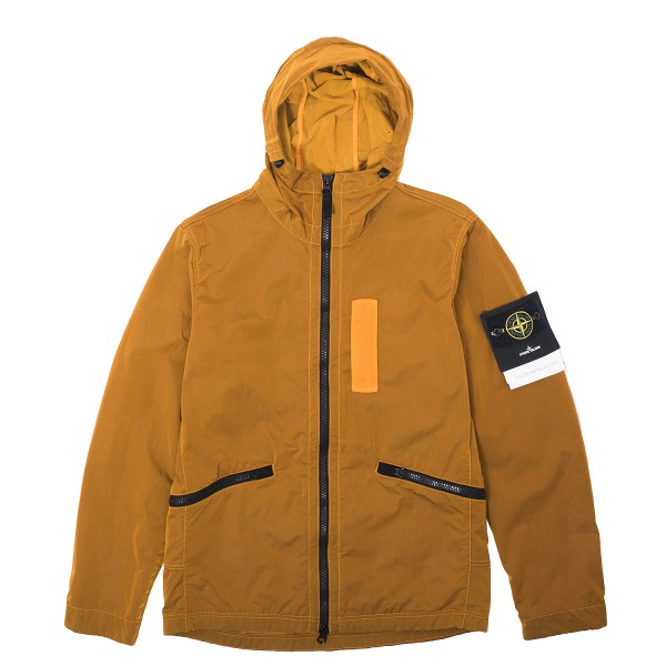 Stone Island Nylon Metal Flock Hooded Jacket