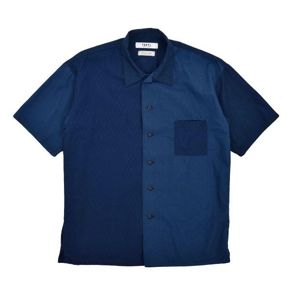 FDMTL Drop Shoulder Indigo Shirt