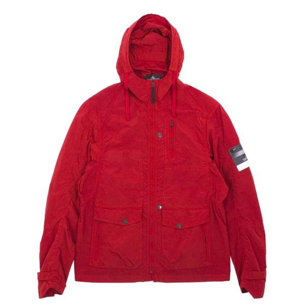 Stone Island Shadow Silon Garment Dyed Single Layer Hooded Jacket