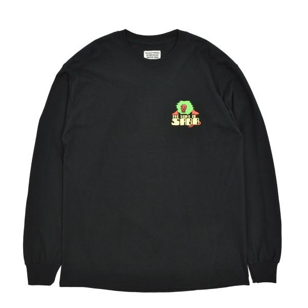 Wacko Maria Crewneck Longsleeve T-Shirt Type-4