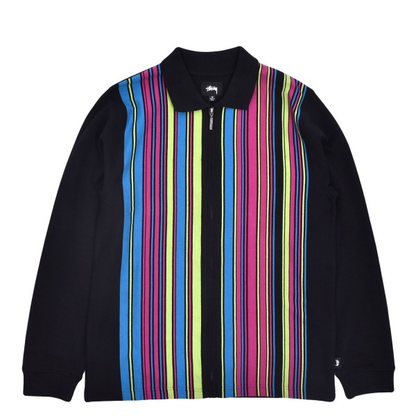 Stussy Simon LS Zip Polo Sweater