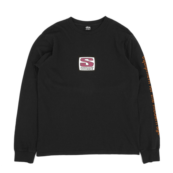 Stussy Equipment Company Pigment Dyed Longsleeve T-Shirt