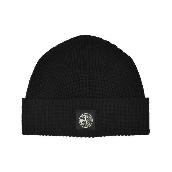 Stone Island Knit Cotton Beanie