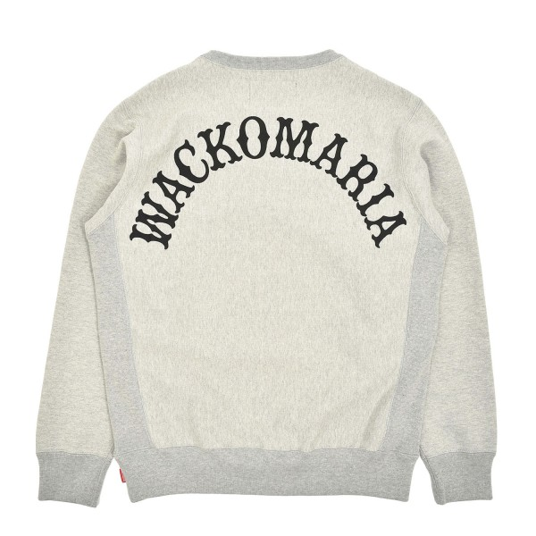 Wacko Maria Heavyweight Crewneck Sweatshirt Type-2