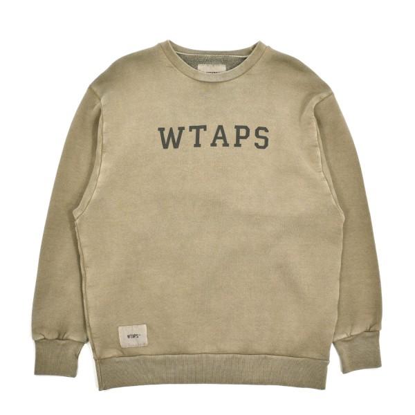 Wtaps College Design Crewneck Sweatshirt