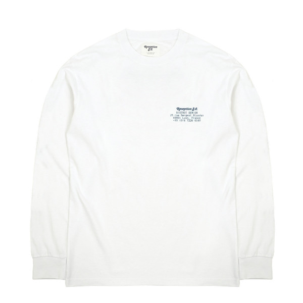 Reception Bistrot Senior Longsleeve T-Shirt