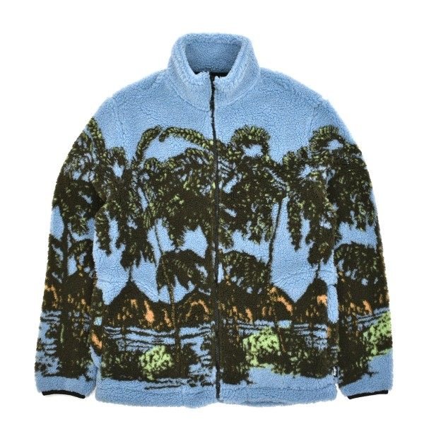 Stussy Hawaiian Jacquard Mock Jacket