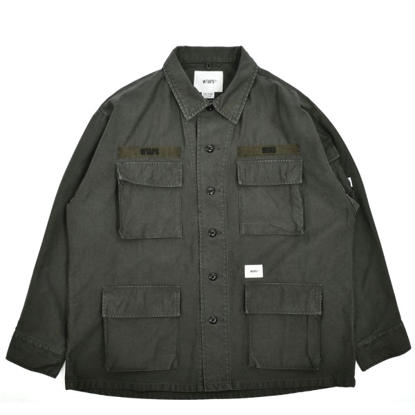 Wtaps Jungle Longsleeve 01 Shirt