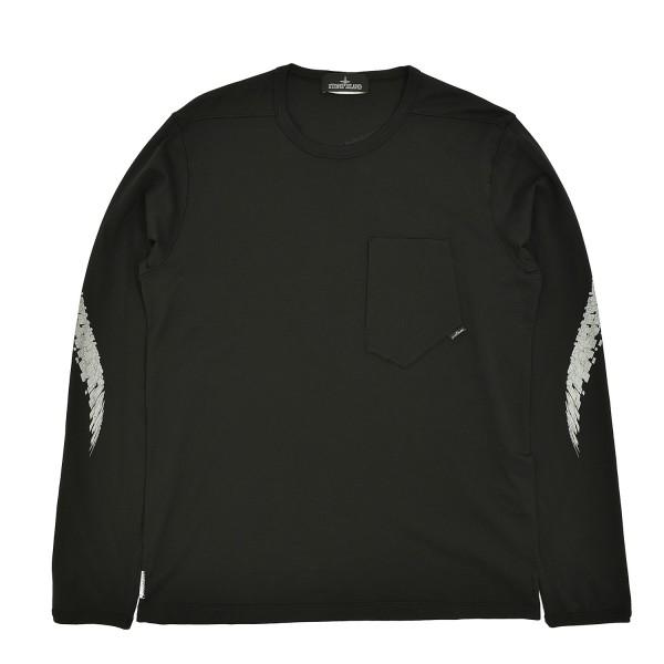 Stone Island Shadow Pocket Longsleeve T-Shirt