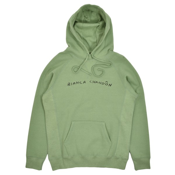 Bianca Chandon Handwritten Logotype Hooded Sweatshirt