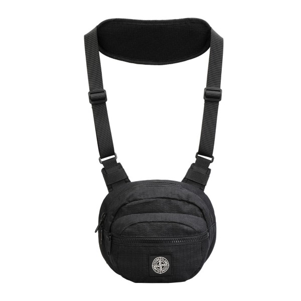 Stone Island Reflective Weave Ripstop Chest Bag