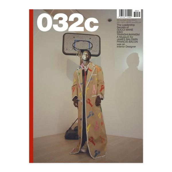 032c Issue #35 Gucci Mane