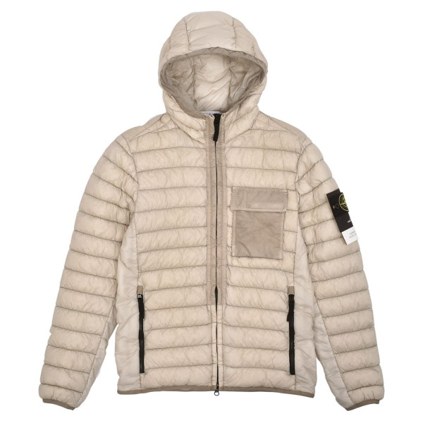 Stone Island Garment Dyed Micro Yarn Down Jacket