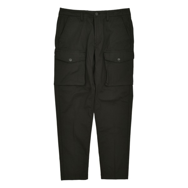 Stone Island Pleated Cargo Trousers