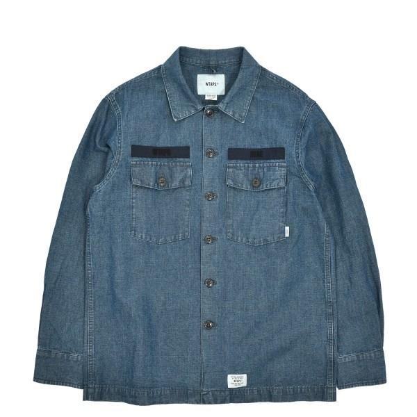 Wtaps 01 Chambray Longsleeve Shirt