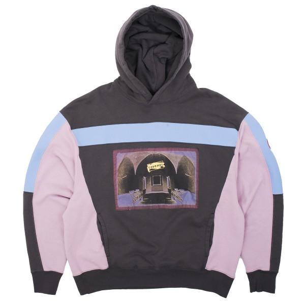 b2423e1137 Cav Empt Blue Rib Heavy Hooded Sweatshirt