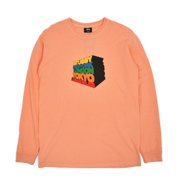 Stussy Stacked Up Longsleeve T-Shirt