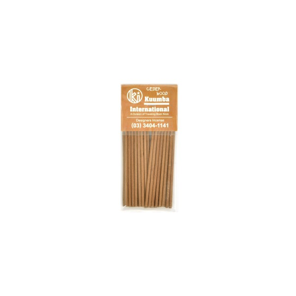 Kuumba Incense Sticks Mini Ceder Wood