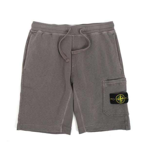 Stone Island Fleece Bermuda Shorts