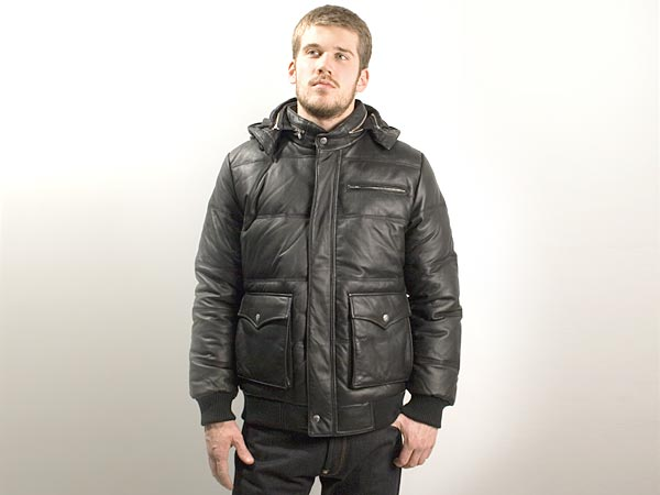 Supreme Leather Down Jacket | FIRMAMENT - Berlin Renaissance