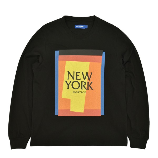 Know Wave Cut Outs New York Longsleeve T-Shirt