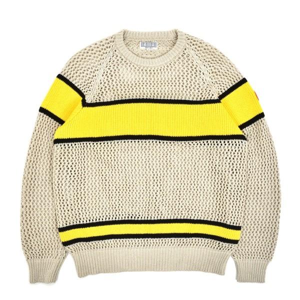 Cav Empt Line Loose Net Knit Sweatshirt