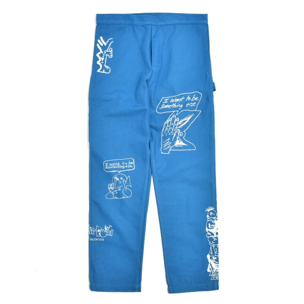 Brain Dead Printed Canvas Carpenter Pant