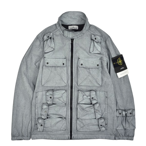 Stone Island Canvas Placcato Field Jacket