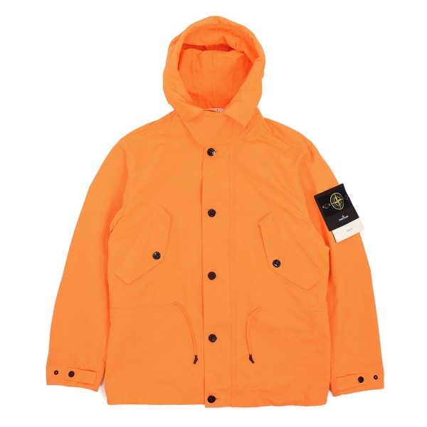 Stone Island David Fluo Hooded Jacket