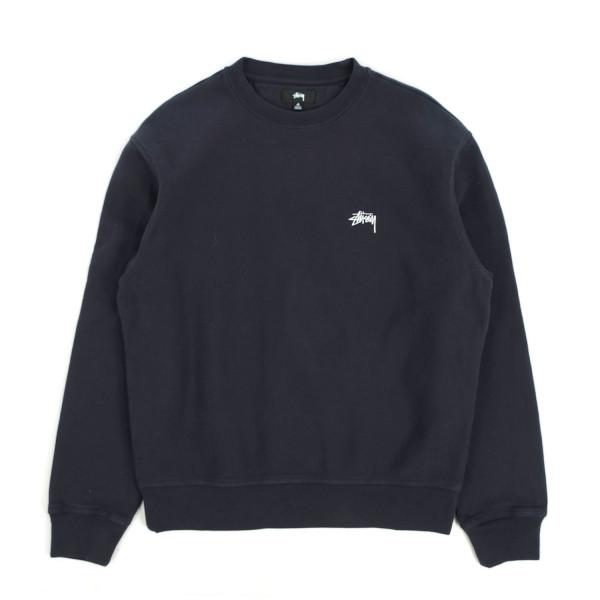 Stussy Stock Logo Crewneck Sweatshirt